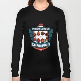 Indigo League Champion - Red Version Long Sleeve T-shirt