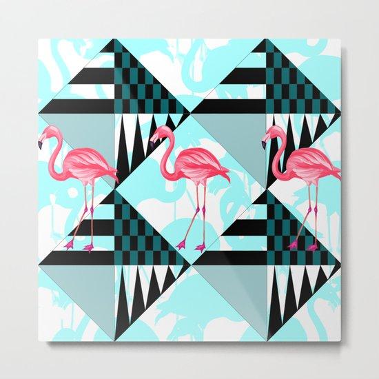 flamingo all days Metal Print