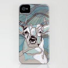 Aqua Deer  Slim Case iPhone (4, 4s)