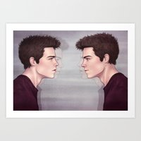 stiles Art Prints featuring Stiles by ribkaDory