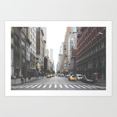 Urban Adventure NYC Art Print