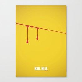 Kill Bill vol. 1 Canvas Print
