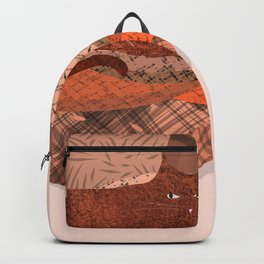 Nope -Red Lazy Cat Backpack