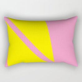 Pink Angles Rectangular Pillow