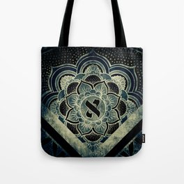 Sacred Geometry for your daily life - ESOTERIC ALEPH KYBALION EYE Tote Bag