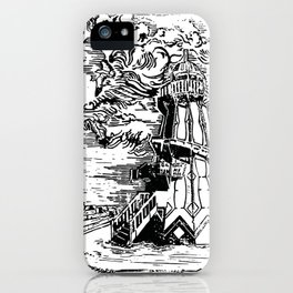 Helter Skelter on a moody afternoon iPhone Case