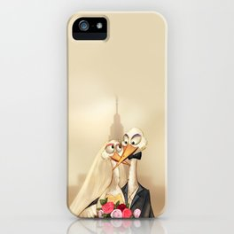 crane wedding iPhone Case
