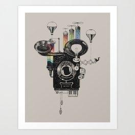 Dream Camera Art Print