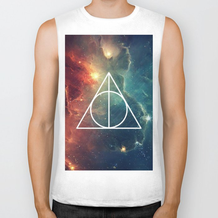 Deathly Hallows Nebula HP Biker Tank