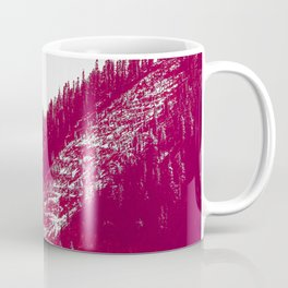 A red velvet myst fogged his eyes but they were evergreen Coffee Mug