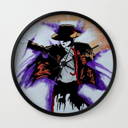 MJ For My Sister Wall Clock