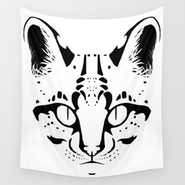 Wild Cat Ocelot Wall Tapestry