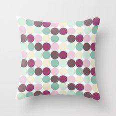 Modern Dots Throw Pillow