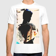 Vintage: The Mohican White MEDIUM Mens Fitted Tee