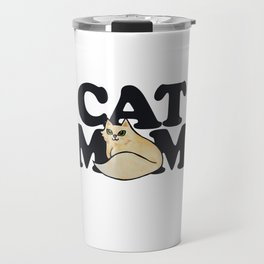 Cat Mom cute cats mother's day Travel Mug