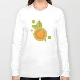Orange Talks Long Sleeve T-shirt