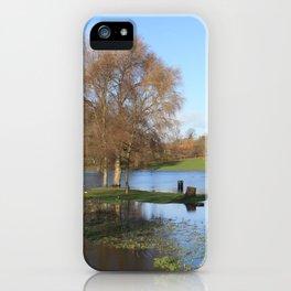 On Lake Gadebridge iPhone Case