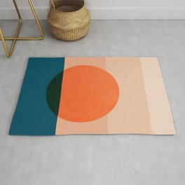 Abstraction_Sunset_Ocean Rug
