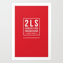 2LS Consulting Engineering Art Print