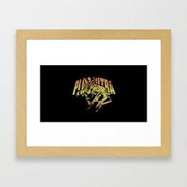 All Might Plus Ultra Framed Art Print