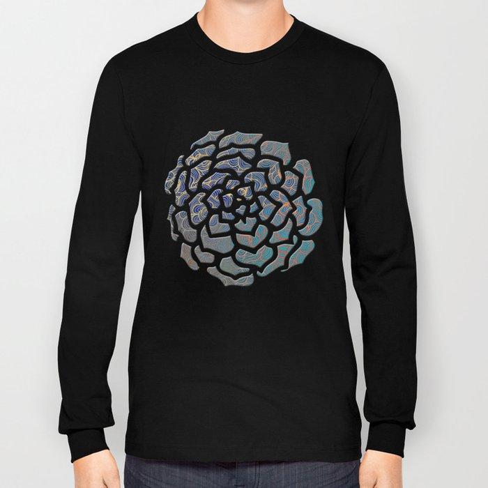 Abstract Roses Long Sleeve T-shirt