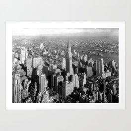 Chrysler Building, New York City 1932 Art Print