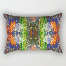 Induced Cosmic Revelations (Four Dreams, In Mutating Cycle) (Reflection) Rectangular Pillow