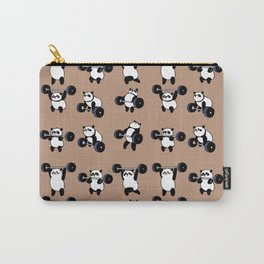 Olympic Lifting Panda Carry-All Pouch