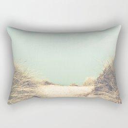 The Way To The Beach Rectangular Pillow