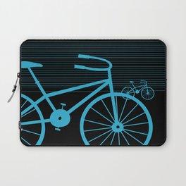 Blue Bike by Friztin Laptop Sleeve