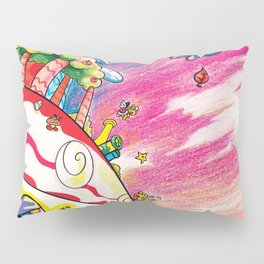 Into the Superflat Sky Pillow Sham