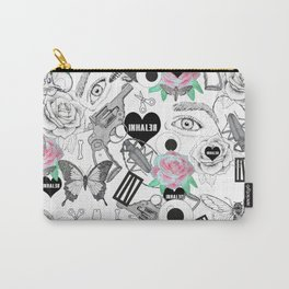 white INhaler Carry-All Pouch