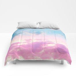 Unicorn Pastel Clouds #3 #decor #art #society6 Comforters