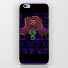 The Hot Winds Of Hell iPhone Skin