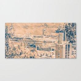 Haifa city 16 Canvas Print