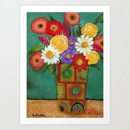 """""""Flowers for Frida"""" Art Print"""