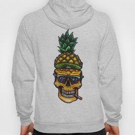 Pineapple Skull Hoody