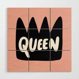 Queen Wood Wall Art