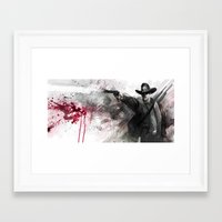 justice Framed Art Prints featuring Justice by Steve Goad
