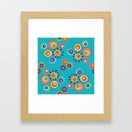 Circle a go go Framed Art Print