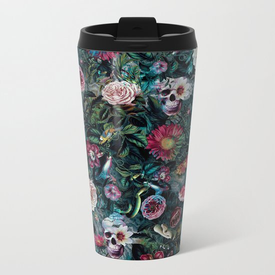 Poisonous Forest Metal Travel Mug