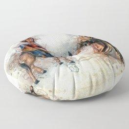 Journey to Bethlehem Floor Pillow