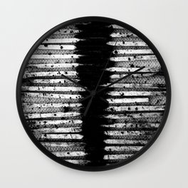 The Path is Paved with Ash Wall Clock