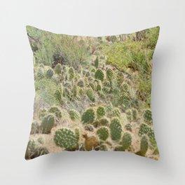 Cactus for days Throw Pillow