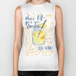 Life Gives You Lemons Biker Tank