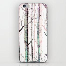 Birch Tree Forest iPhone Skin