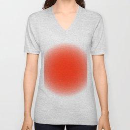 fluodot orange Unisex V-Neck