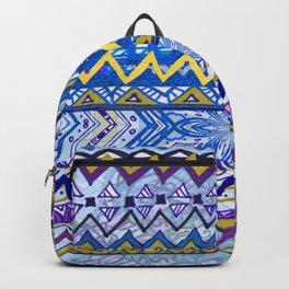 Blue Zag Backpack