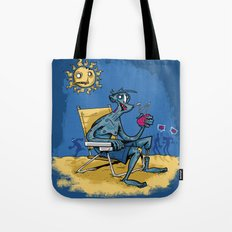 Zombie Beach Party! Tote Bag