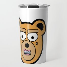 Tatted Teddy Travel Mug
